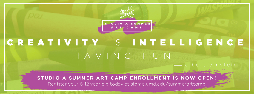 Studio A Summer Art Camp enrollment is open